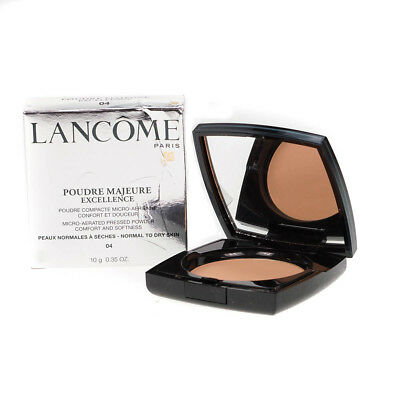 Lancome Poudre Majeure Excellence Powder Compact 04 Peche Doree Damaged Box