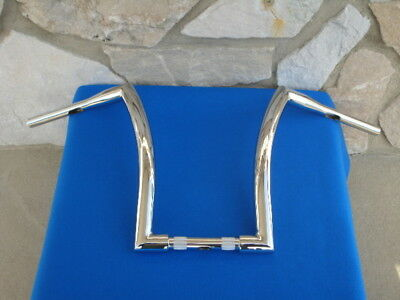"16"" Chrome Dna Monster Fat Ape Hanger Bars 1-1/2"" Harley Handlebars"