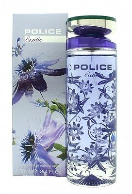 Police Exotic Eau De Toilette 100Ml Spray - Women's For Her. New. Free Shipping