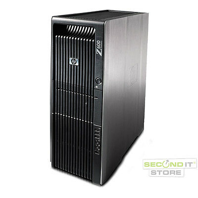 HP Z600 Workstation Intel Xeon Quad-Core 4x 2,4 GHz 16 GB RAM 1 TB HDD Win10