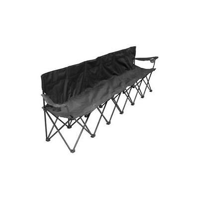 CREATIVE OUTDOOR 810350 6 Person Folding Chair Black