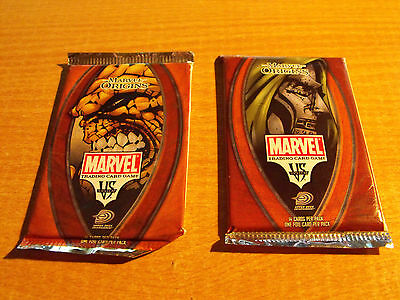 Vs System Marvel Origins Sealed Booster Pack