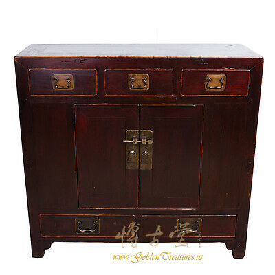 Chinese Antique Chest, Cabinet/Side Table 16XB04