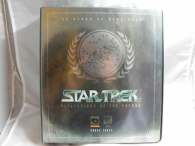 Star Trek 30 Years Phase 3 Collectors Binder