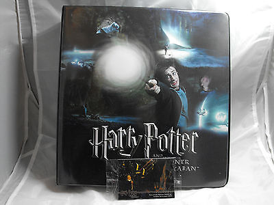 Harry Potter And The Prisoner Of Azkaban Collectors Binder Including Promos
