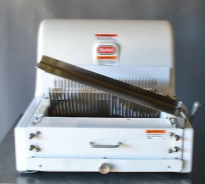Used Berkel Mb 1/2 Countertop Bread Slicer Free Shipping!