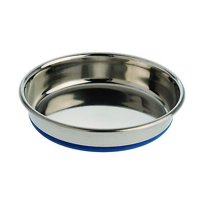 OurPets Durapet NO SKID Stainless Steel Food and Water CAT Bowl 12 ounce