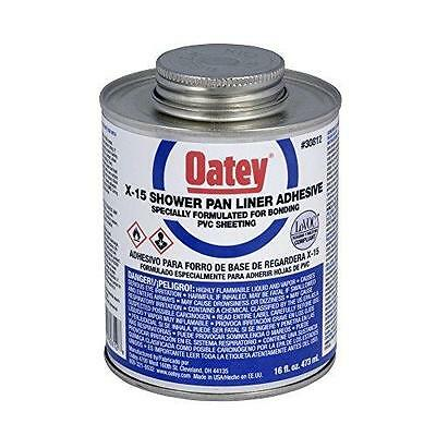 Oatey 30812 X-15 PVC Solvent with Dauber, 16-Ounce New