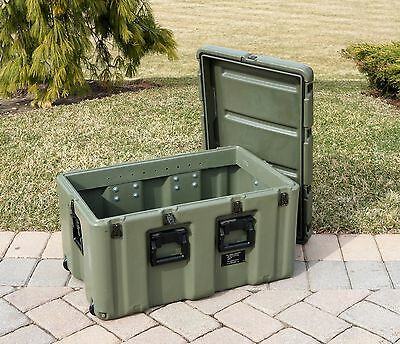 Pelican Hardigg Trunk Case 472-MEDCHEST7 Military 33x21x19 Wheeled Medical Chest
