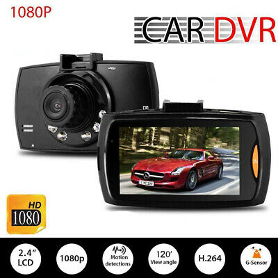 1080P HD CAR DVR G-sensor IR Night Vision Vehicle Camera Recorder Dash Cam MT