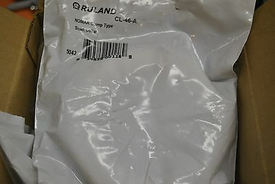 Box Of 6 Ruland Manufacturing Nomar Clamp Type Shaft Collar Cl-46-A Cl46A