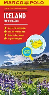 Iceland Marco Polo Map by Marco Polo 9783829767231 (Sheet map, folded, 2011)