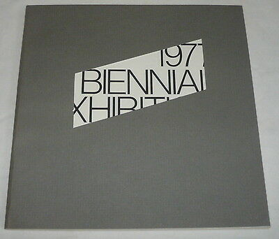 1977 BIENNIAL EXHIBITION WHITNEY MUSEUM OF AMERICAN ART ~ New York, NY