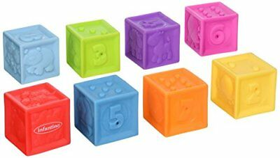 Infantino Squeeze and Stack Block Set New