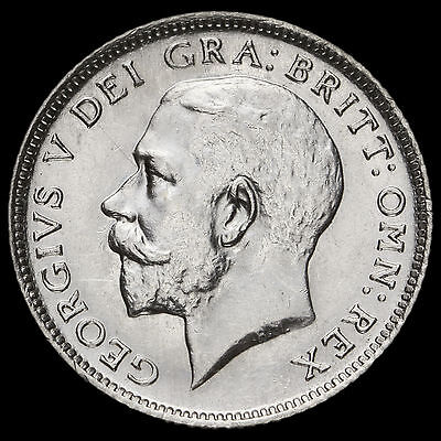 1924 George V Silver Sixpence – G/EF #2