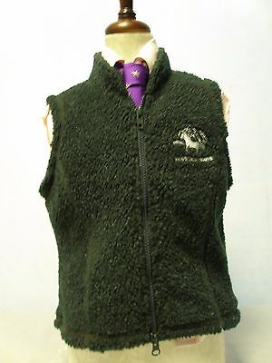 Mountain Horse Green Fleeced kid Gilet/ Bodywarmer