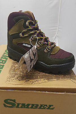 Simbel Trecking Boots For Children In Sizes 10/11.5/12/13