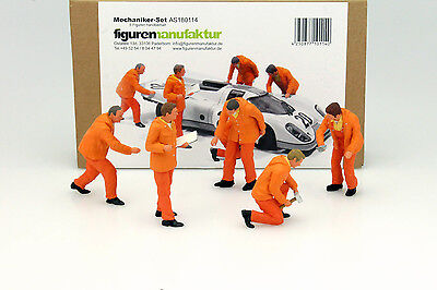 Mechanic Figures Set mit 5 Figurines 1:18 FigurenManufaktur