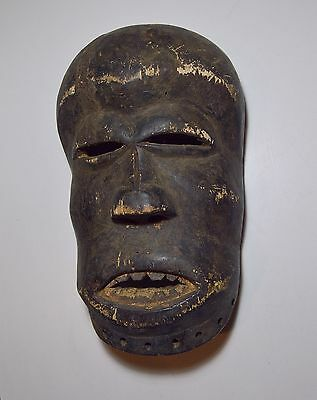 A Very Old Ibibio African Mask, African Art