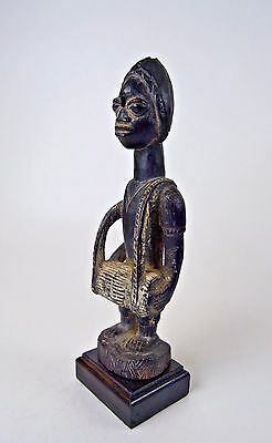 A Fine Yoruba Talking Drum Player African Art