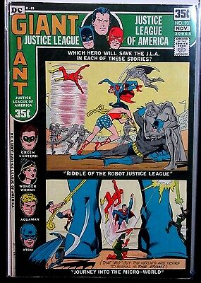 JUSTICE LEAGUE OF AMERICA #93 (VF+) Nice Bronze-Age Comic 1971 DC 68 Page Giant