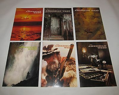 6 Issues The American West Magazine 1975, The Complete Year