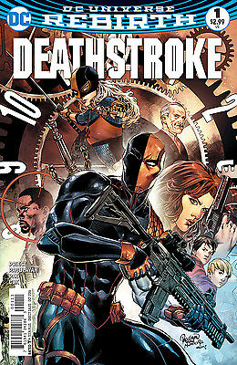 DEATHSTROKE #1, New, First print, DC REBIRTH (2016)