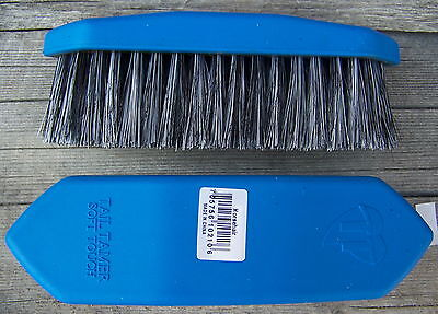 Brush - Large Horse Hair by Tail Tamer (Blue)