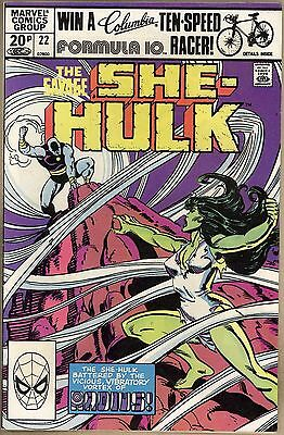 Savage She-Hulk #22 - FN/VF