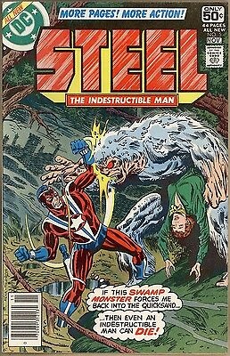 Steel, The Indestructible Man #5 - VF