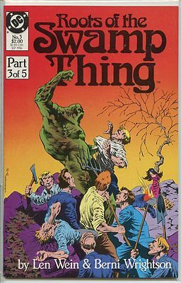 Roots of the Swamp Thing 1986 series # 3 very fine comic book