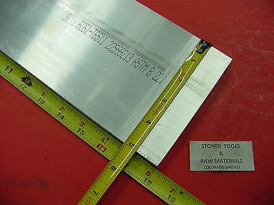 "1/2"" X 5"" ALUMINUM 6061 FLAT BAR 18"" long T6511 Solid .50"" Plate New Mill Stock"