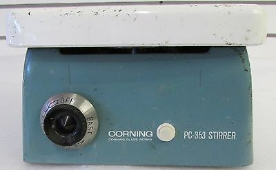 Corning Lab Laboratory Magnetic Stirrer Mixer PC-353 Works  (HP15)