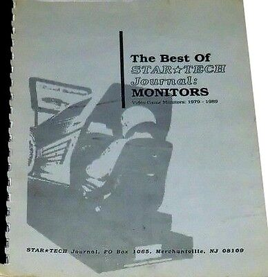 Best of STAR TECH Journal: MONITORS Video Game Monitors 1979-1989