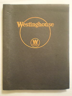 Antique 1930 Westinghouse Electric Service Department Employee Manual
