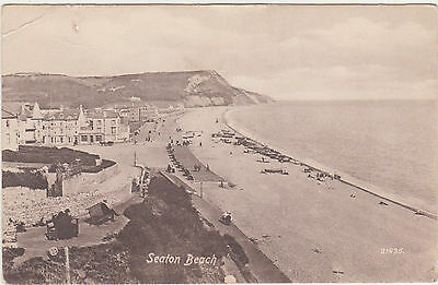 Seaton Beach,U.K.Devon,c.1909