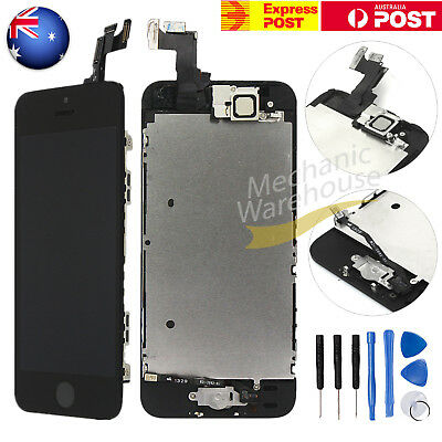 LCD Display Touch Screen Home Button Front Camera Digitizer For iPhone 5s SE AU