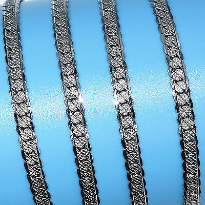 20 Inches Fashion Men'S Stainless Steel 5MM Jewelry Chain Necklace Pendant R7