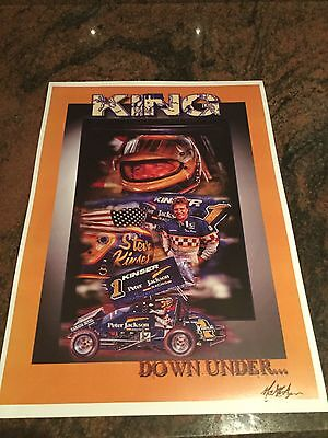 Steve Kinser King Down Under Print