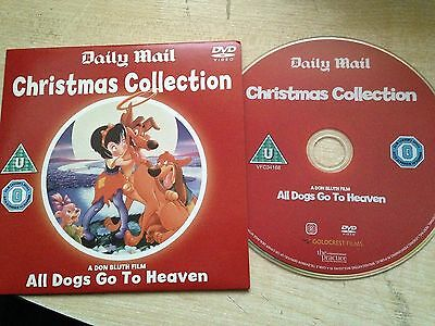 ALL DOGS GO TO HEAVEN Don Bluth Christmas Xmas Childrens Animated Cartoon DVD