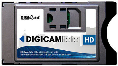 !rientrato In Stock! Digicam Italia Hd-Modulo Cam Universale Per Tv Con Slot Ci