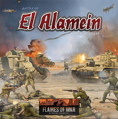 Flames of War BNIB Battle of El Alamein: War in the Desert FWBX07