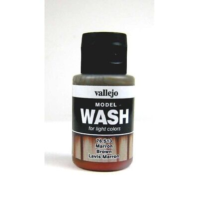 (12,54€/100ml) Vallejo Model Wash Brown 35ml 76513 Farbe