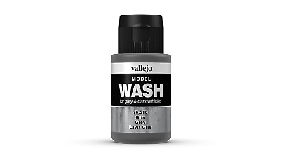 (12,54€/100ml) Vallejo Model Wash Grey 35ml 76516 Farbe