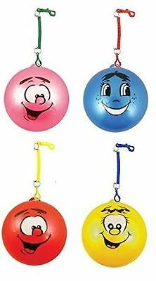 1 24 Inflatable Smiley Face Fruity Smelly Ball With Hook Keyring Kids Toy Party