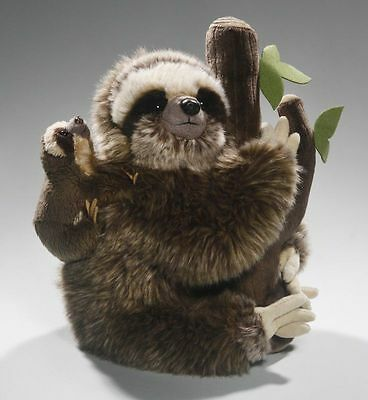 New Plush Cuddly Critters Mother & Baby Three Toed Sloth Soft Toy Teddy