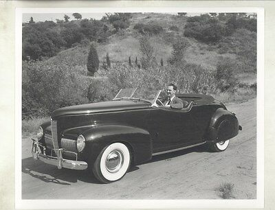 1940 Nash Alexis Sakhnoffsky Custom Roadster ORIGINAL Factory Photograph ww7202