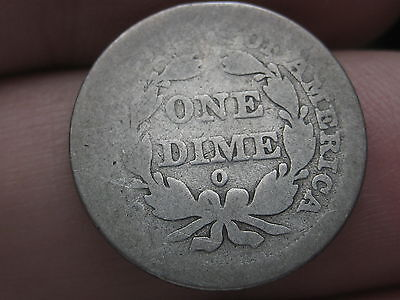 1843-O Seated Liberty Dime- Rare Key Date- Lowball