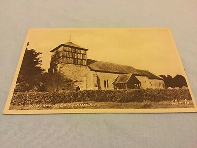 Old Postcard Winforton Church