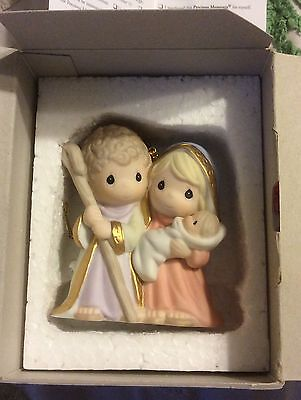 Precious Moments Ornament Born The King Of Angels In Box 810009